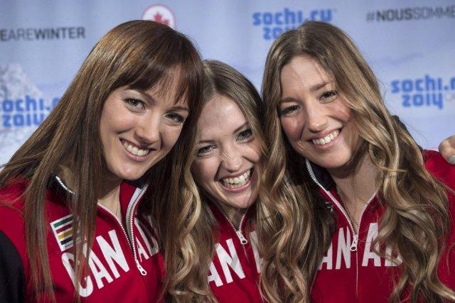Les soeurs Dufour-Lapointe... (Photo Paul Chiasson, PC)