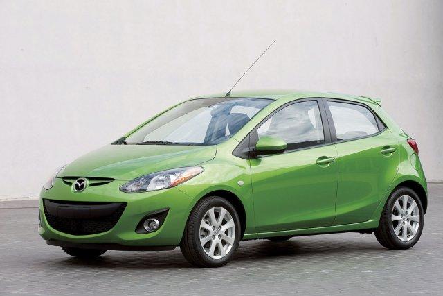 La Mazda2 d'actuelle génération... (Photo fournie par Mazda)