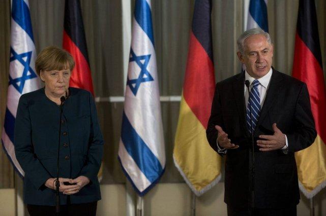 Le premier ministre israélien Benyamin Nétanyahou lors de... (Photo Reuters)