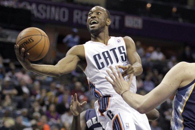 Kemba Walker, des Bobcats de Charlotte, a été... (Photo Bob Leverone, AP)