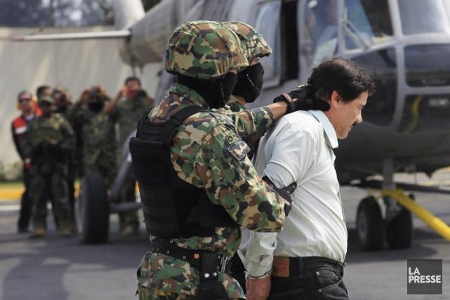 Joaquin «El Chapo»Guzman a été arrêté samedi.... (Photo: Reuters)