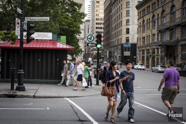 En queue de peloton parmi les grandes villes... (Photo: Olivier Pontbriand, La Presse)