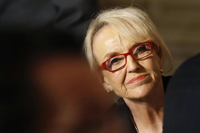 La gouverneure de l'Arizona, Jan Brewer, connue pour... (Photo: Reuters)