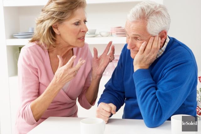 Le nombre d'aînés ayant divorcé au Canada a... (Photothèque Le Soleil)