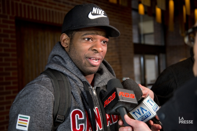P.K. Subban... (Photo David Boily, La Presse)