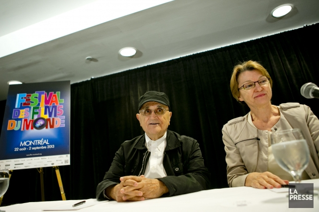 Serge Losique et Danièle Cauchard, en 2013.... (Photo: Marco Campanozzi, archives La Presse)