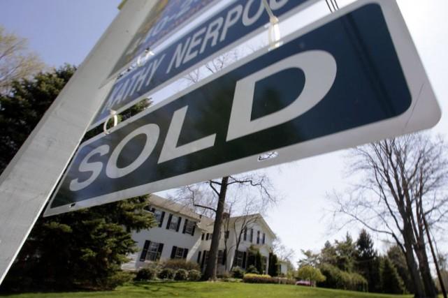 Les reventes de logements se sont établies à... (Photo Amy Sancetta, archives Associated Press)