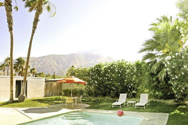 Résidence à louer à Palm Springs en Californie.... (Photo tirée du site)