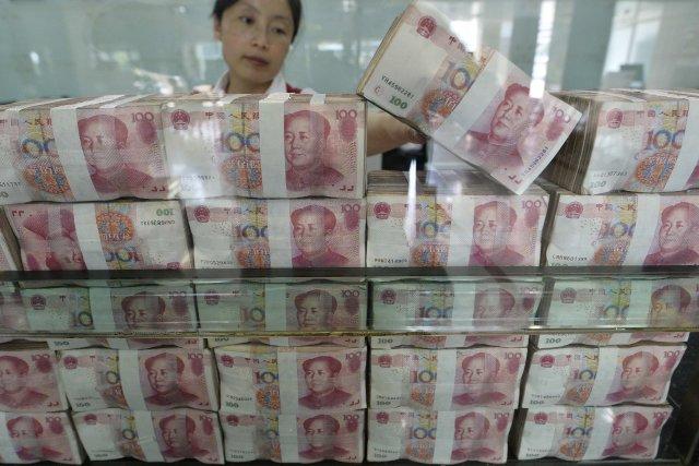 La Chine, deuxième économie mondiale, confirme sa percée... (Photo JON WOO, Reuters)