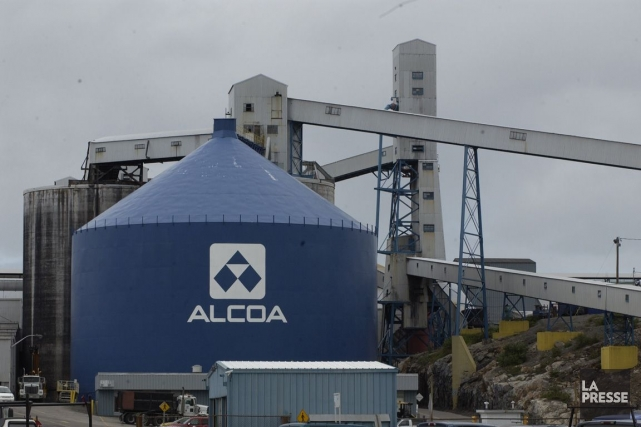 L'aluminerie d'Alcoa à Baie-Comeau... (Photo Archives La Presse)
