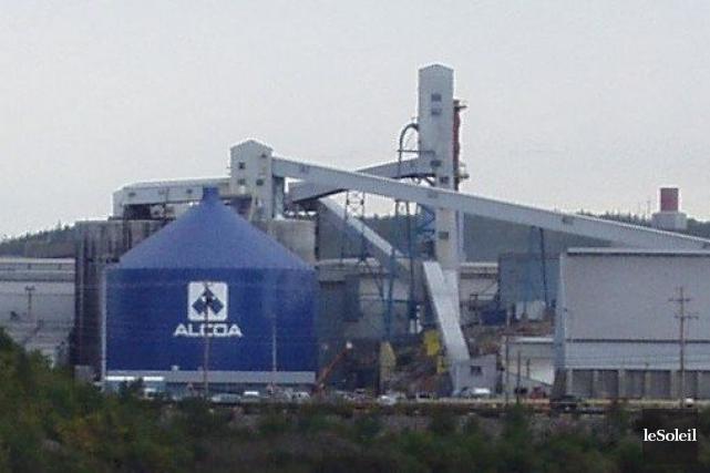 L'aluminerie Alcoa de Baie-Comeau... (Photothèque Le Soleil)