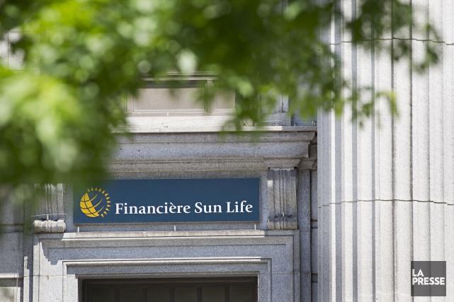 La Financière Sun Life (T.SLF), un des principaux assureurs... (Photo Anne Gauthier, Archives La Presse)