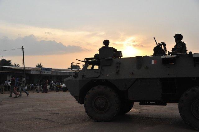 En dépit de la mobilisation de 2000 soldats... (PHOTO ISSOUF SANOGO, AFP)