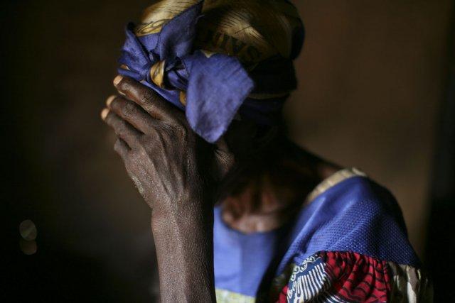 Une femme victime de viols par des rebelles,... (Photo Michael Kamber, archives The New York Times)