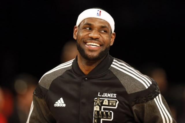 LeBron James... (Photo archives Reuters)