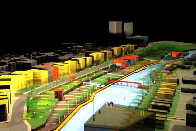 Une dizaine de projets pour revitaliser le centre-ville... (Courtoisie)