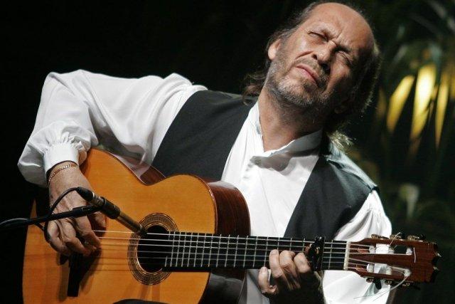 Paco de Lucia en 2008.... (Photo Reuters)