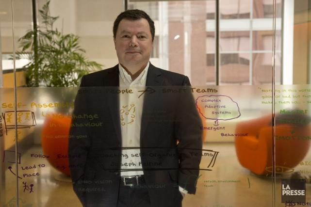 Éric Le Goff, PDG de Solution Abilis, déplore... (PHOTO DAVID BOILY, LA PRESSE)