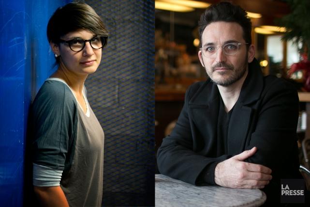 Chloé Robichaud et François Delisle... (Photos archives La Presse)