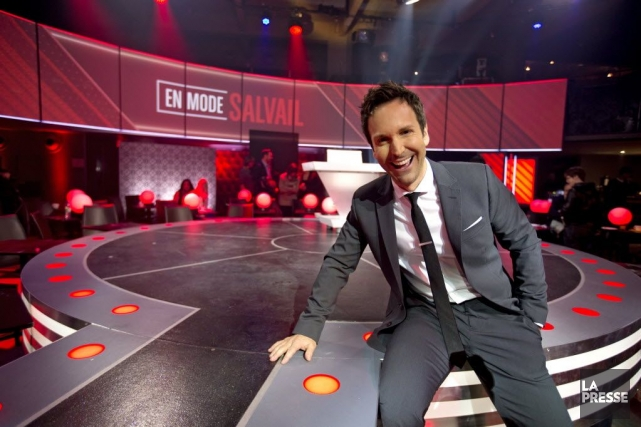 Éric Salvail... (Photo: Alain Roberge, archives La Presse)