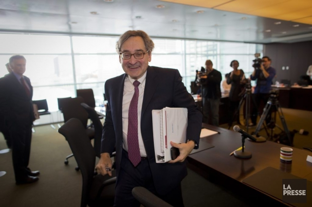Michael Sabia estime que le document, rendu public... (PHOTO ANDRE PICHETTE, LA PRESSE)