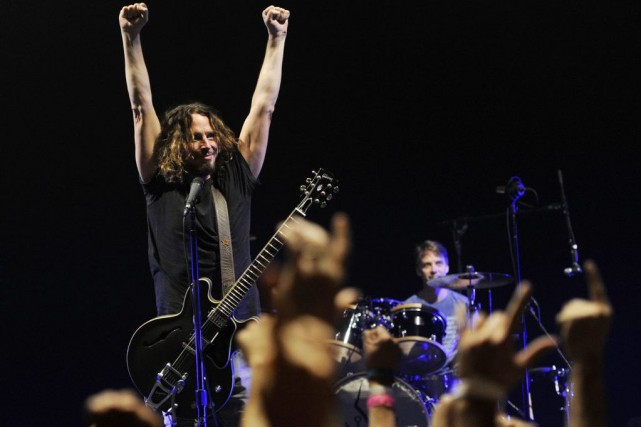 Chris Cornell de Soundgarden.... (Photo Chris Pizzello, Associated Press)