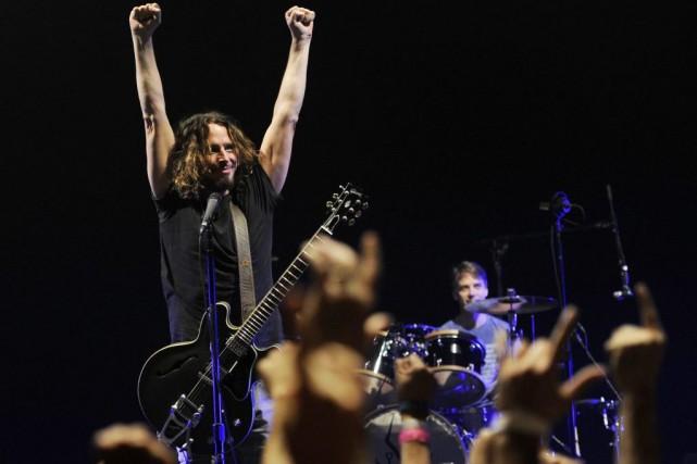 Chris Cornell de Soundgarden.... (Photo Chris Pizzello, Associated Press)
