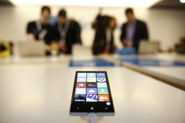 Près d'un tiers des téléphones intelligents vendus l'an... (Photo Simon Dawson, Bloomberg)