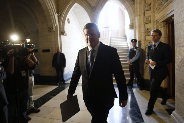 Le ministre des Affaires étrangères, John Baird... (Photo CHRIS WATTIE, Reuters)
