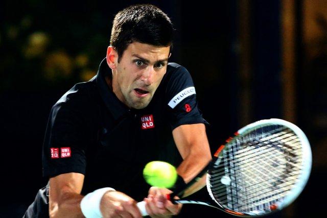 Novak Djokovic s'est débarrassé de l'Espagnol Roberto Bautista... (Photo Marwan Naamani, AFP)