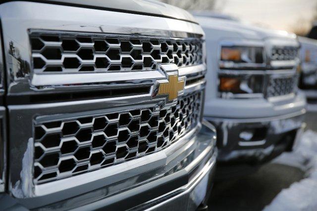 GM pourrait tout comme Ford adopter l'aluminium pour... (Photo Gary Cameron, AP)
