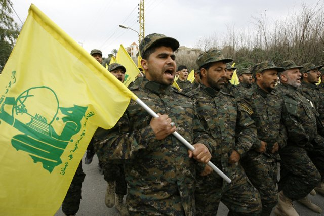 Seul groupe armé à avoir gardé son arsenal... (Photo: AP)