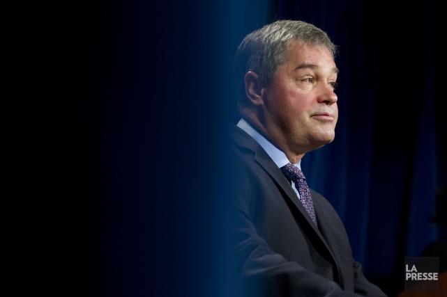 Le critique libéral et ex-ministre de la Santé,... (PHOTO IVANOH DEMERS, La Presse)