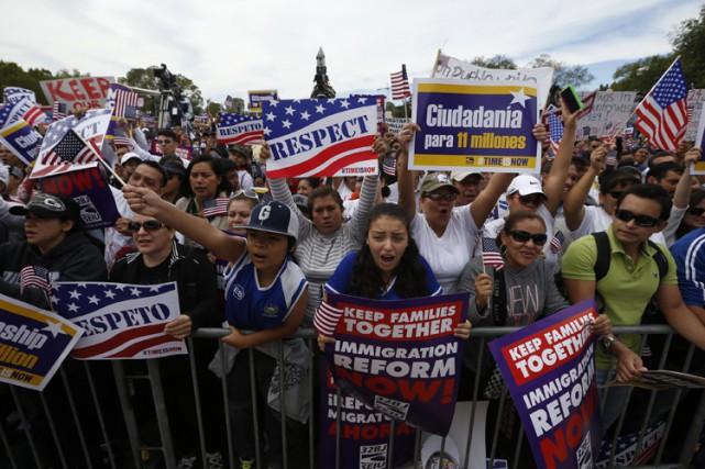 Barack Obama avait fait de cette réforme l'une... (Photo archives Reuters)