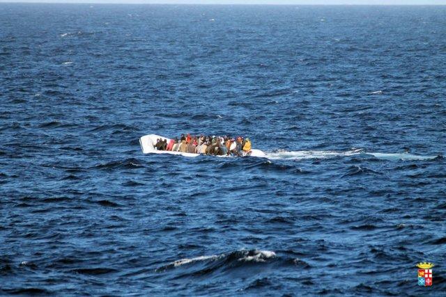 Tous les émigrés étaient en provenance des côtes... (Photo AFP)