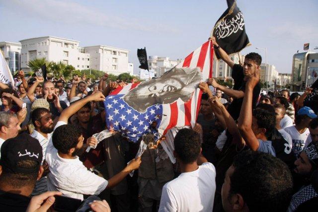 Innocence of Muslims a déclenché un tollé dans... (Archives AFP)