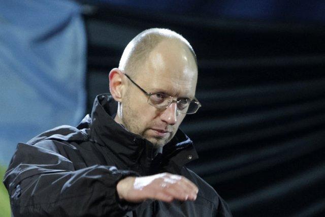 A 39 ans, Arseni Iatseniouk va prendre la... (Photo: AFP)