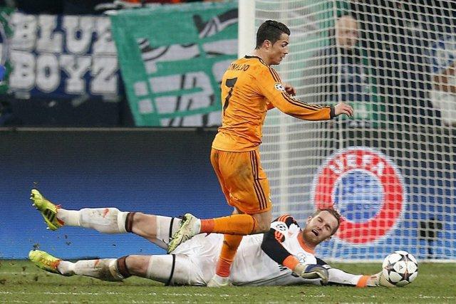 Le Real Madrid a signé une 27e victoire... (Photo: AP)