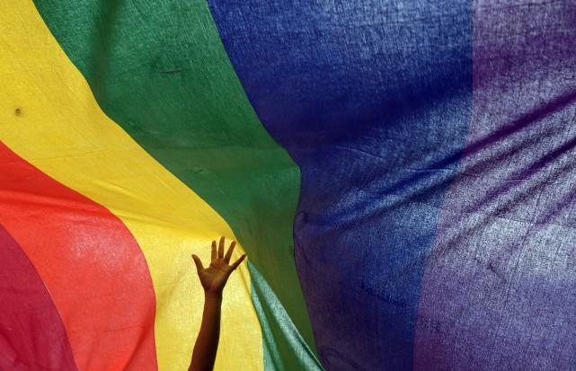 L'homosexualité est fortement réprimée dans plusieurs pays africains... (Photo AFP)