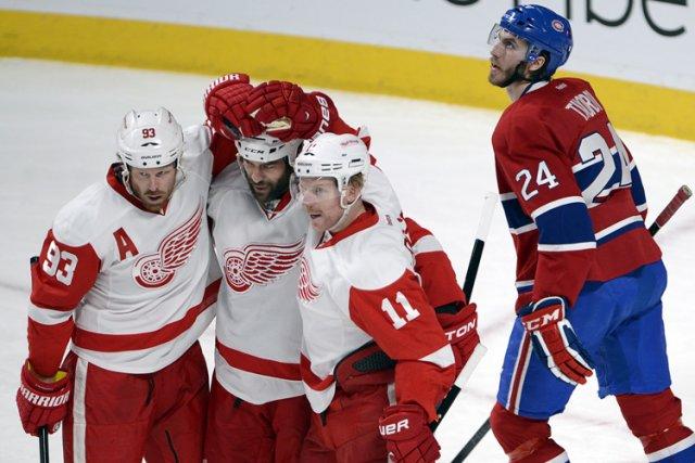 Relisez le clavardage du match entre le Canadien et les Red Wings de Detroit... (Photo: PC)
