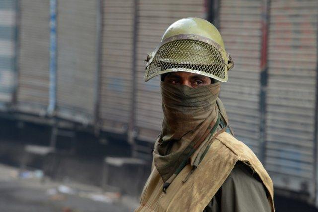 Des rebelles combattent les forces indiennes depuis 1989,... (Archives AFP)