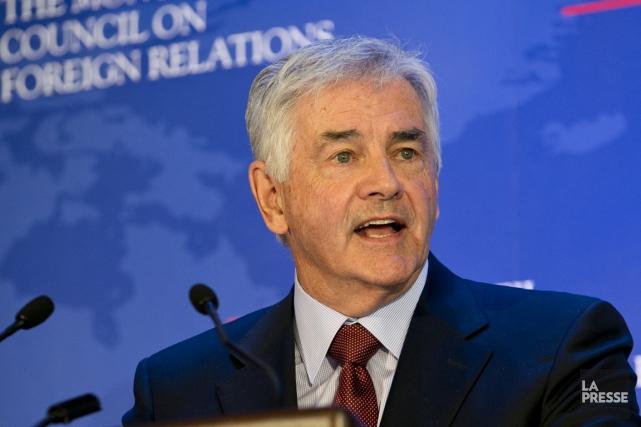 Lawrence Cannon est actuellement ambassadeur du Canada en... (Photo archives La Presse)
