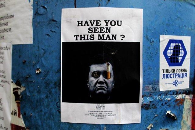 «Avez-vous vu cet homme?», une affiche sans équivoque... (Photo AFP)
