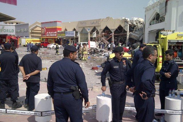 La déflagration a provoqué d'importants dégâts dans un... (Photo VICTORIA BAUX, AFP)