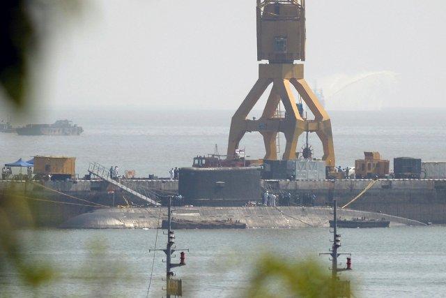 La marine indienne dispose de 14 sous-marins, mais... (Photo PUNIT PARANJPE, AFP)