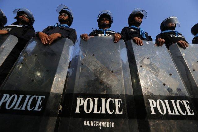 La justice a interdit à la première ministre... (Photo DAMIR SAGOLJ, Reuters)