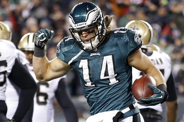 Riley Cooper... (Photo Geoff Burke, USA Today)