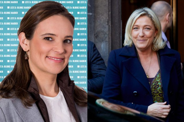 La fille aînée du défunt politicien autichien Jörg... (Photos tirées de Facebook/Archives AFP)