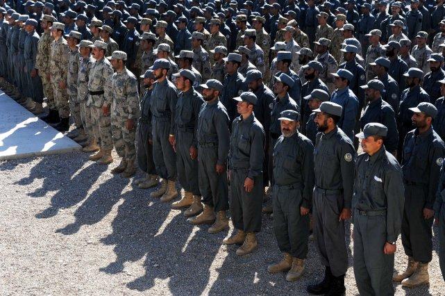 Les États-Unis et l'Otan souhaitent maintenir un contingent... (Photo Aref Karimi, AFP)