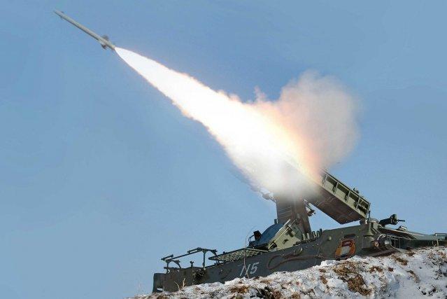 Les missiles avaient une portée de 200 km.... (Photo AFP)